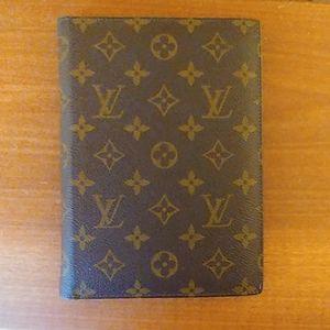 Louis Vuitton calendar cover. Vintage 1980s